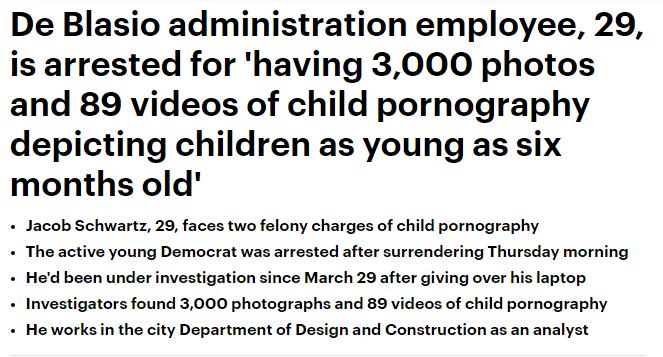De Blasio employee is arrested for child pornography _ Daily Mail Online